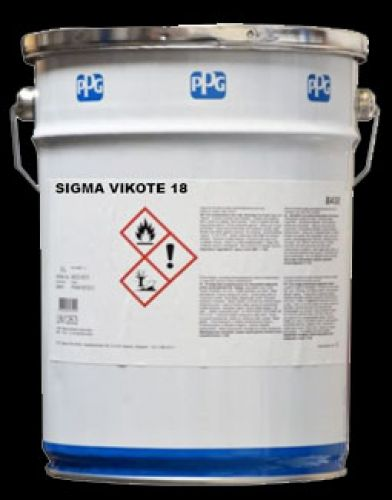 SIGMA VIKOTE 18 - High-build, aluminum pigmented chlorinated rubber primer/sealer